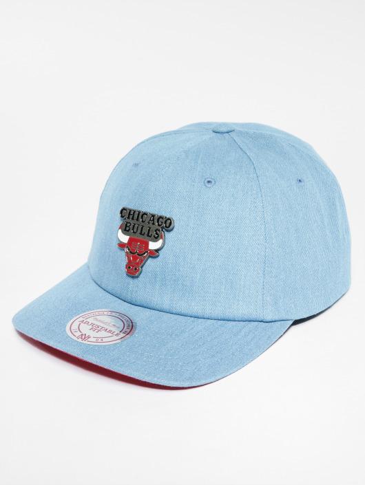 Mitchell & Ness Casquette Snapback & Strapback NBA Chicago Bulls bleu