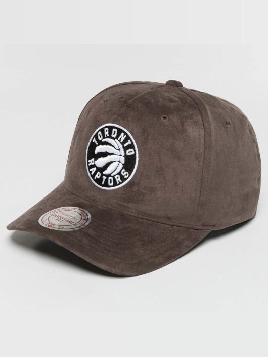 Mitchell & Ness Casquette Snapback & Strapback 110 Curved NBA Torronto Raptors Suede gris