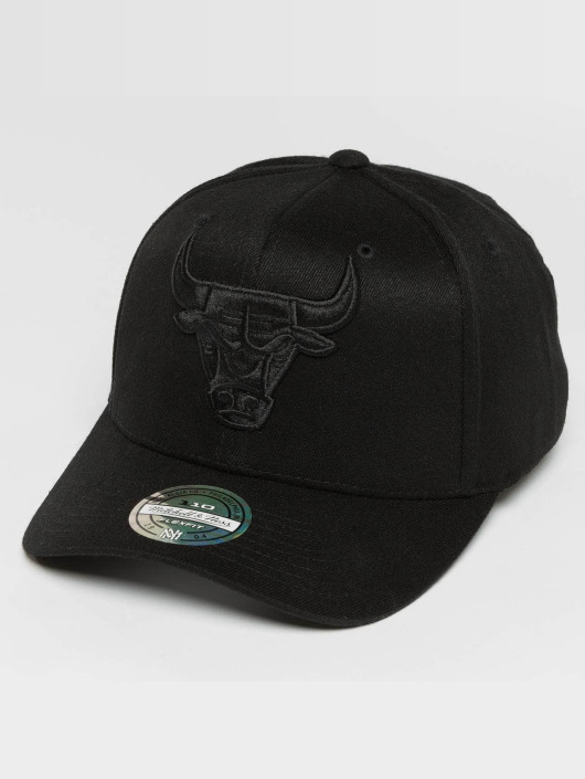 Mitchell & Ness Casquette Snapback & Strapback 110 Curved Tonal Chicago Bulls noir