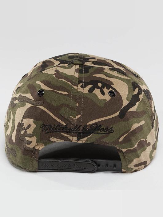 Mitchell & Ness Casquette Snapback & Strapback Stretchfit vert