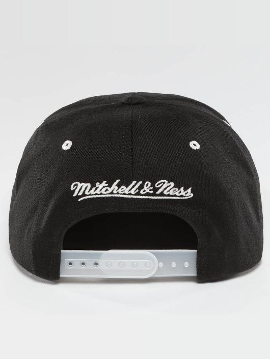 Mitchell & Ness Gorra Snapback NBA 2-Tone Logo Cleveland Cavaliers negro