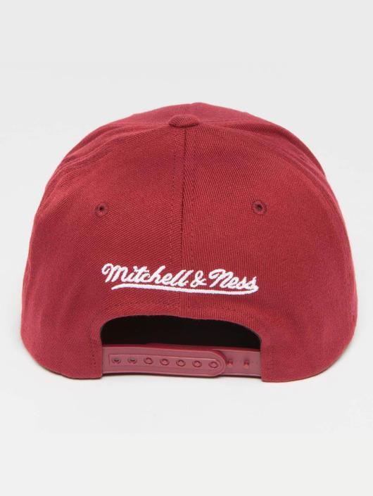 Mitchell & Ness Gorra Snapback The Burgundy 2-Tone Visor Sticker 110 rojo