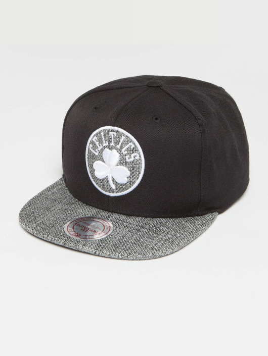 Mitchell & Ness Snapback Cap Woven TC NBA Boston black