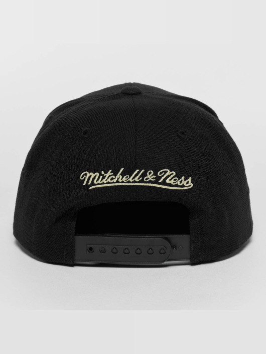Mitchell & Ness Snapback Cap Raised Perimeter Own black