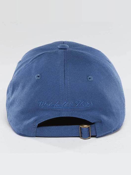 Mitchell & Ness Snapback Cap Team Logo Low Pro blue