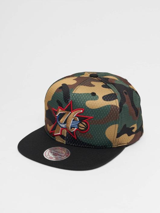 Mitchell & Ness Snapback Cap Woodland Philadelphia 76ers Cover camouflage