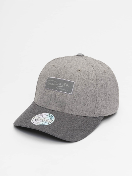 Mitchell & Ness Snapback Cap Beam Own Brand 110 Curved grau