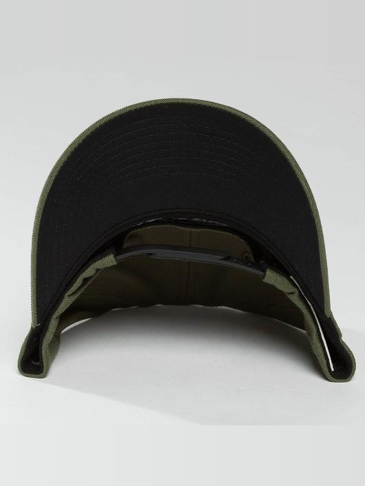 Mitchell & Ness snapback cap 110 The Camo & Suede olijfgroen