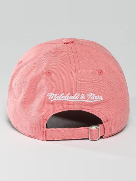 Mitchell & Ness Snapback Cap NBA Pastel 2-Tone Logo Cleveland Cavaliers rose