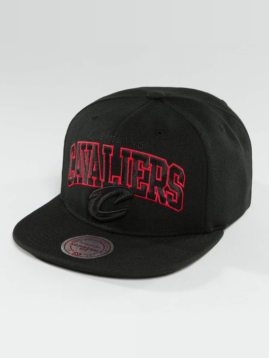 Mitchell & Ness Snapback Cap Red Pop Cleveland Cavaliers schwarz