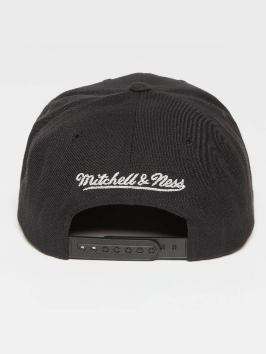 Mitchell & Ness Snapback Cap Woven TC NBA Chicago Bulls schwarz