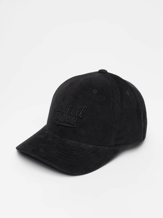 Mitchell & Ness Snapback Cap Own Brand Cord Curved schwarz