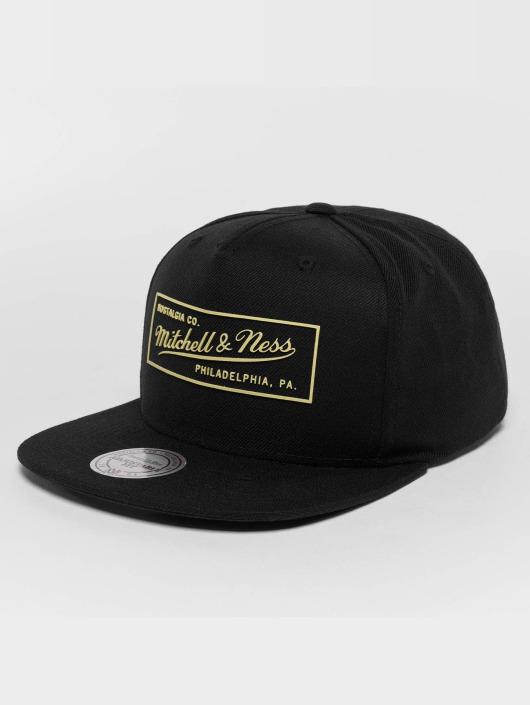 Mitchell & Ness snapback cap Raised Perimeter Own zwart