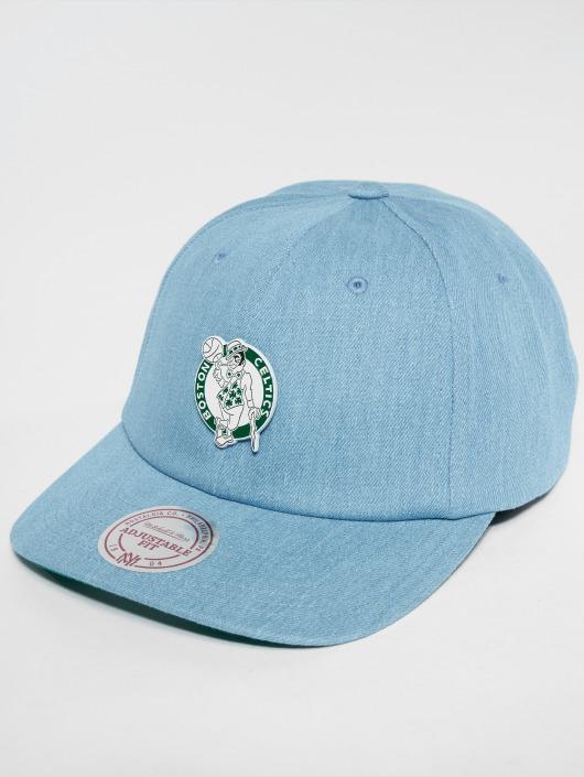 Mitchell & Ness Snapback Caps HWC Bosten Celtics Denim Pin Strapback blå