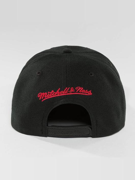 Mitchell & Ness Snapback Caps Red Pop Golden State Warriors czarny