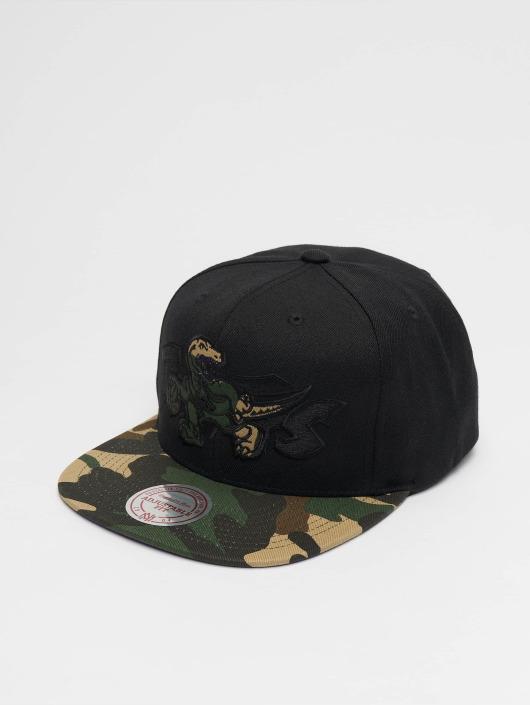 Mitchell & Ness Snapback Caps Woodland Toronto Raptors Blind czarny