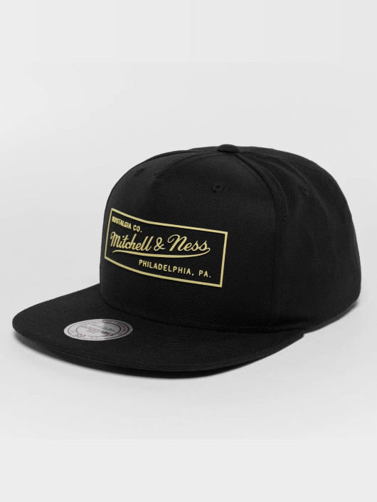 Mitchell & Ness Snapback Caps Raised Perimeter Own czarny