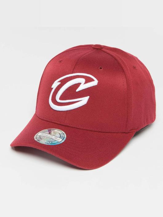 Mitchell & Ness Snapback Caps The Burgundy 2-Tone NBA Cleveland Cavaliers 110 czerwony