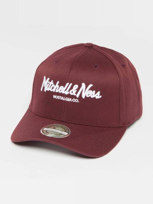 Mitchell & Ness Snapback Caps Own Brand Pinscript High Crown 110 czerwony