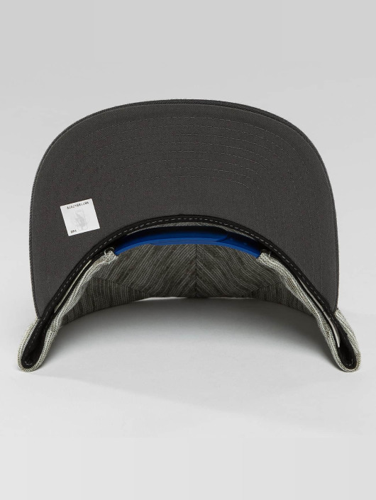 Mitchell & Ness Snapback Caps WC Brushed Melange San Francisco Warriors grå