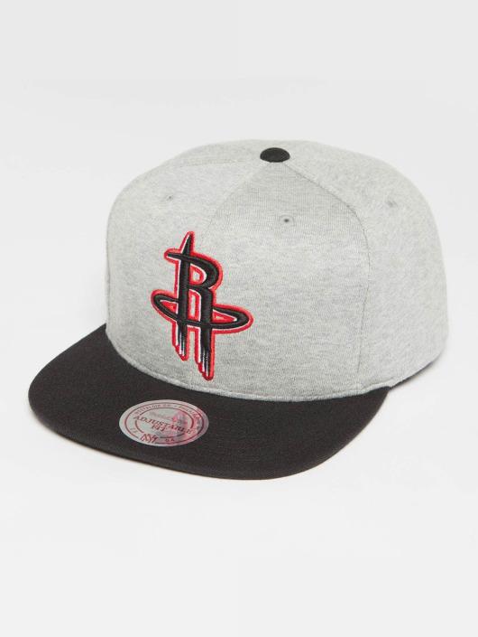 Mitchell & Ness Snapback Caps The 3-Tone NBA Houston Rockets grå