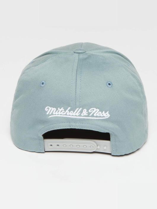 Mitchell & Ness Snapback Caps Own Brand Pinscript High Crown 110 niebieski
