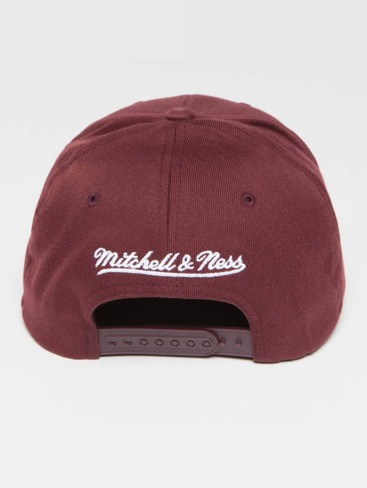 Mitchell & Ness Snapback Caps Own Brand Pinscript High Crown 110 red