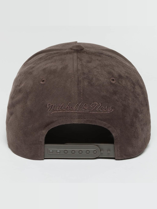 Mitchell & Ness Snapback Caps 110 Curved NBA Torronto Raptors Suede szary
