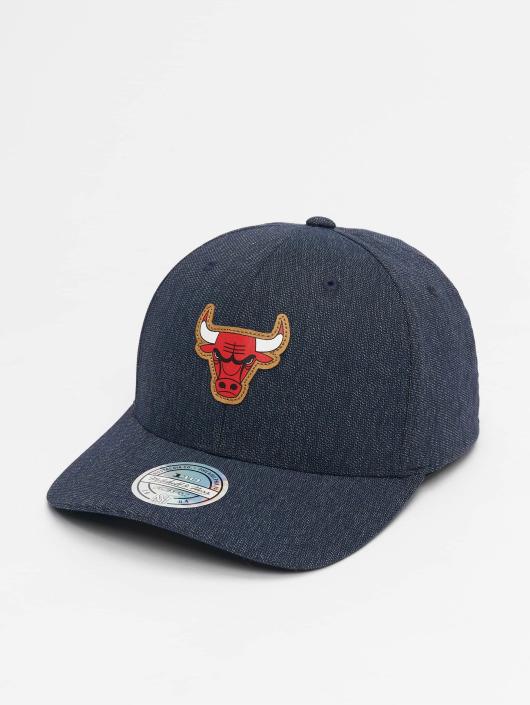 meet 61847 610cd Mitchell   Ness Snapbackkeps NBA Kraft Chicago Bulls 110 blå