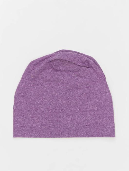 MSTRDS Čiapky Heather Jersey fialová