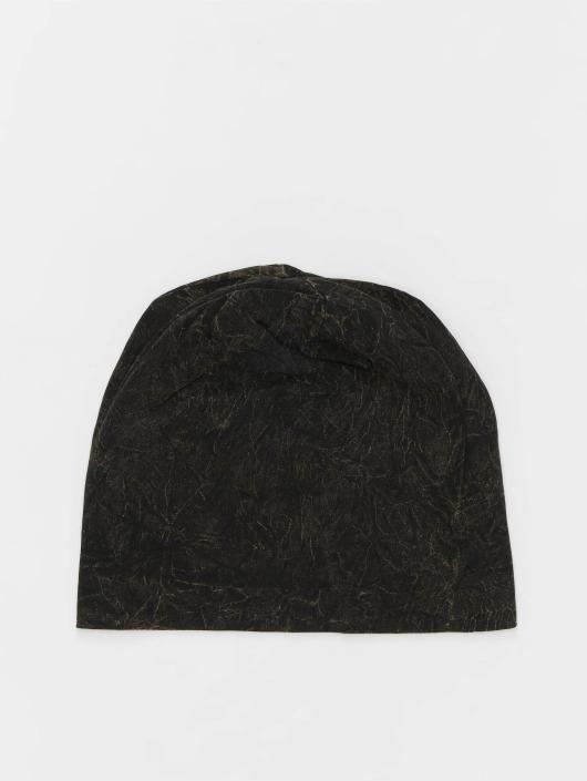 MSTRDS Beanie Stonewashed Jersey black