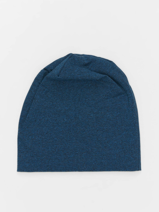 MSTRDS Beanie Heather Jersey blau
