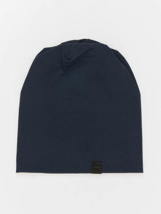 MSTRDS Beanie Jersey blau