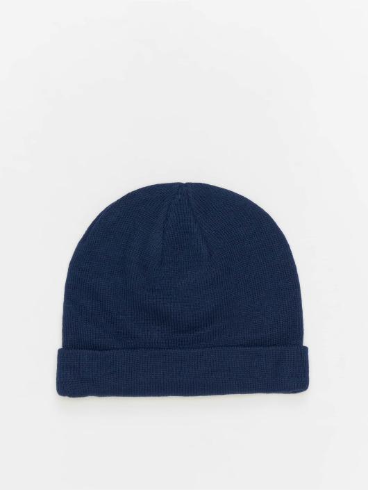 MSTRDS Beanie Short Cuff Knit blauw