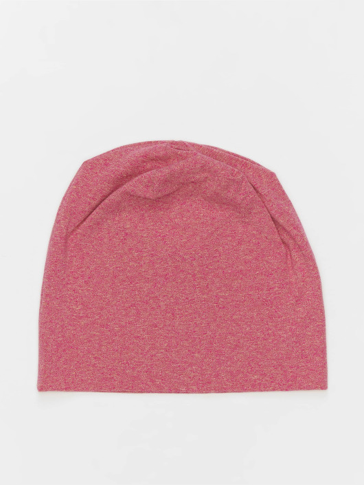 MSTRDS Beanie Heather Jersey red