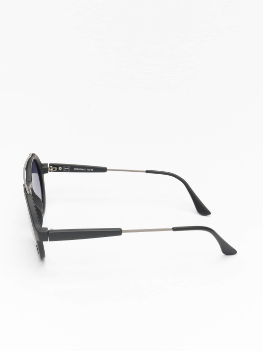 MSTRDS Briller Retro Space Polarized Mirror svart