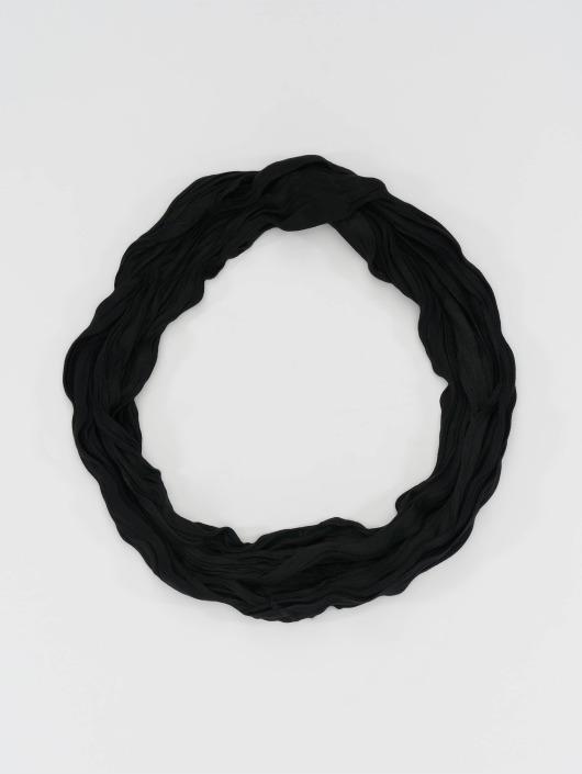 MSTRDS   Wrinkle Loop noir Femme Echarpe 76602 2aca779883d