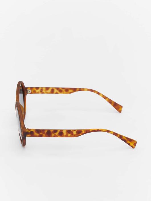 MSTRDS Okulary Retro Funk Polarized Mirror brazowy