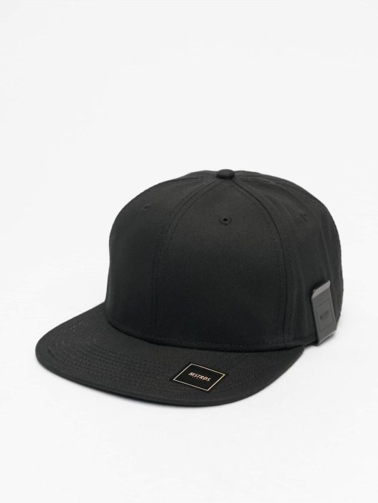 MSTRDS Snapback Cap Money Clip black