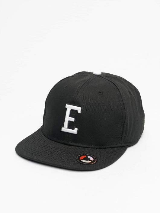 MSTRDS Snapback Cap E Letter schwarz