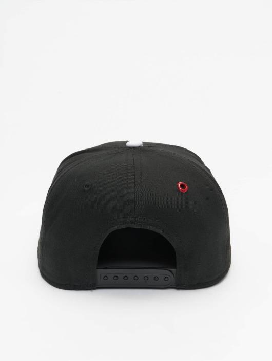 aee5bbe9f23d MSTRDS Snapback Cap W Letter in schwarz 177387