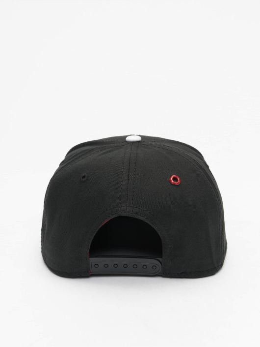 MSTRDS snapback cap X Letter zwart