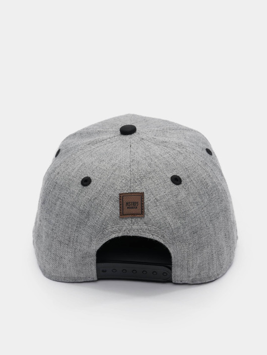 MSTRDS Snapback Caps I Letter šedá