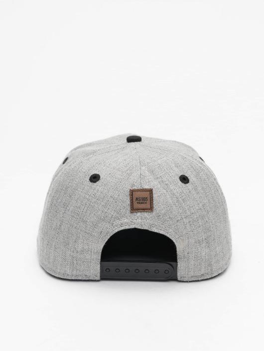 MSTRDS Snapback Caps K Letter grå