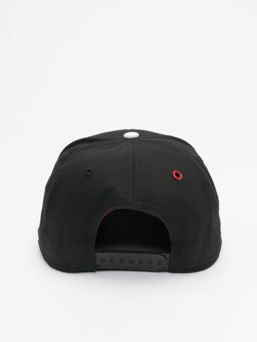 MSTRDS Snapback Caps H Letter musta