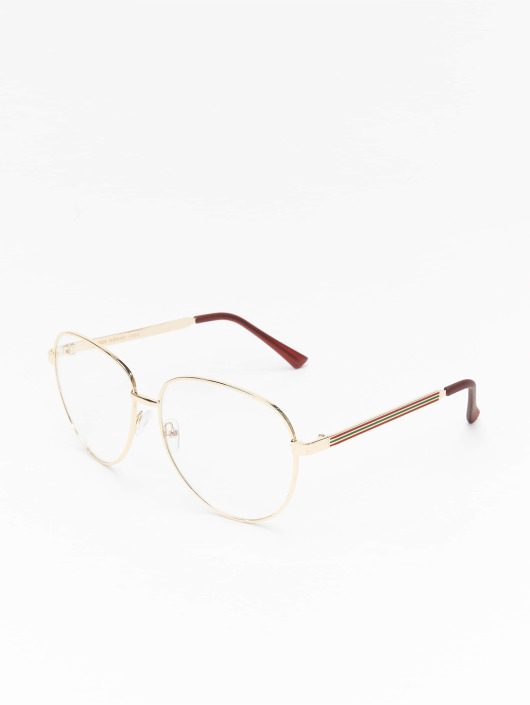 MSTRDS Sunglasses February gold colored