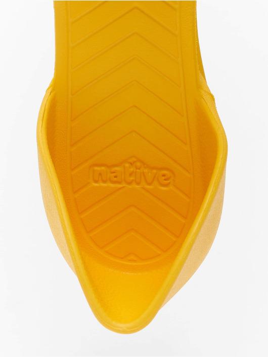 Native Claquettes & Sandales Audrey jaune
