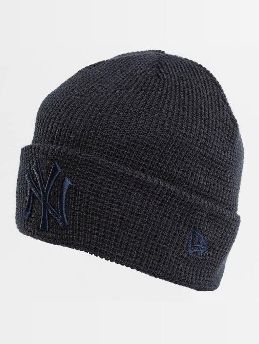 New Era Bonnet New Era Essential Waffle Knit NY Yankees Beanie bleu
