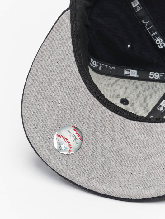 Casquette New Pitch 59fify Era Bevel Yankees 96585 Fitted Ny Bleu VSUzqpGM
