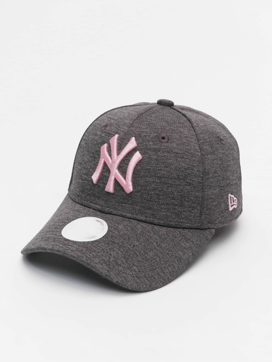 New Era Casquette Snapback & Strapback Tech Jersey NY Yankees 9Forty gris